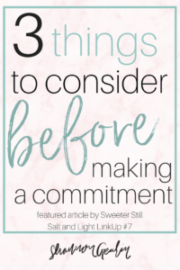 Overcommited: 3 Things to Consider Before Saying Yes