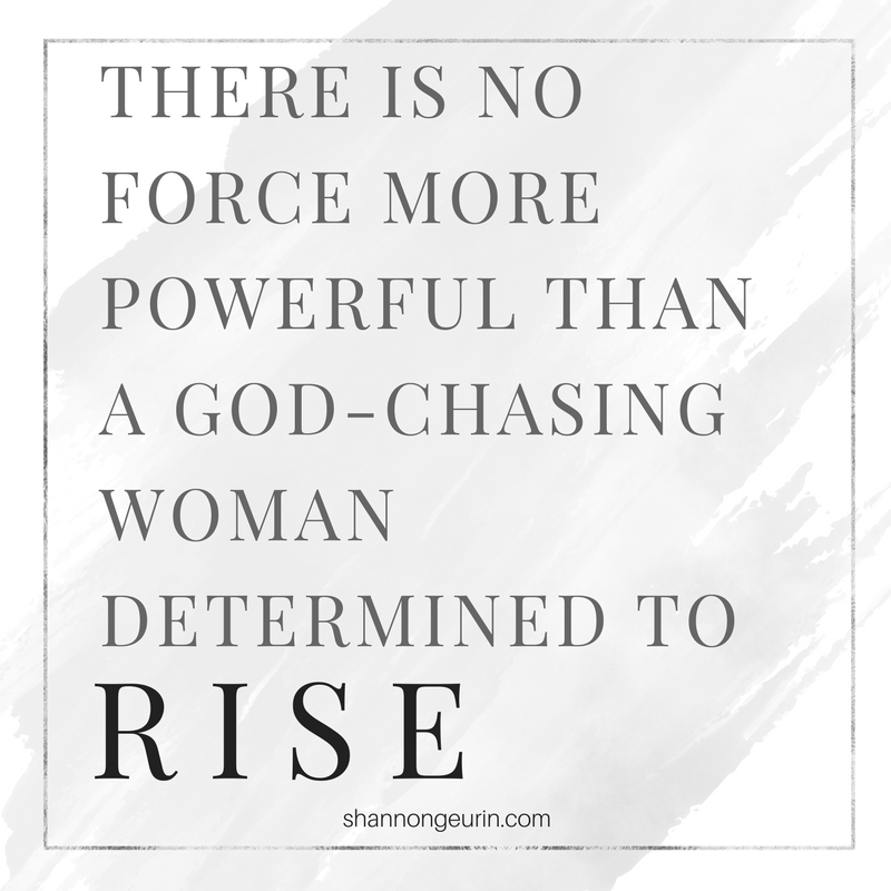 A woman and her calling. Fight for your calling. YOU are called.